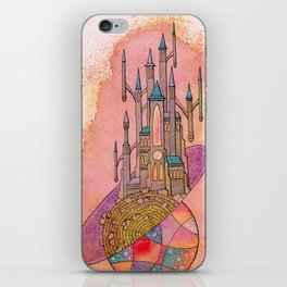 Cosmic Castle iPhone Skin