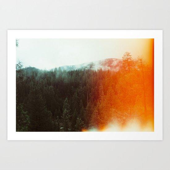 Trinity Alps Art Print