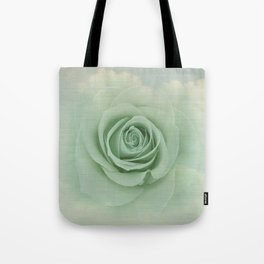 Dreamy Vintage Floating Rose Tote Bag