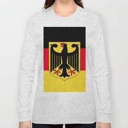 Germany flag emblem Long Sleeve T-shirt
