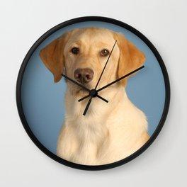 Nolan the Dog Wall Clock