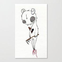 Stabbed Demon Canvas Print