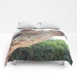 giraffe tongue Comforters