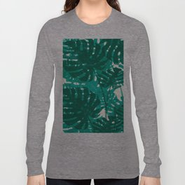 Punk Monstera Long Sleeve T-shirt