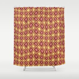 Diamonds Are Forever-Canyon Colors Shower Curtain