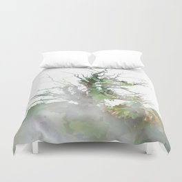 Where the sea sings to the trees - 1 Duvet Cover
