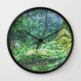 The Nature's green Wall Clock