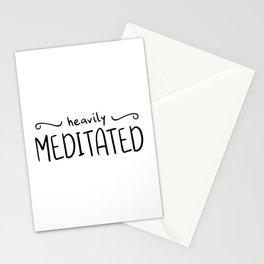 Heavily Meditated Stationery Cards