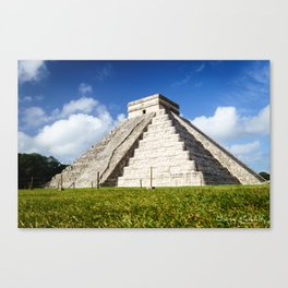 Chichen Itza Yucatan Mexico Canvas Print