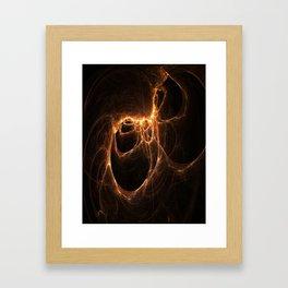Scars Left by Flames Framed Art Print