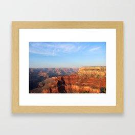 Grand Canyon South Rim at Sunset Framed Art Print