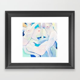 Twist Framed Art Print