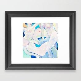 Twist Framed Art Print