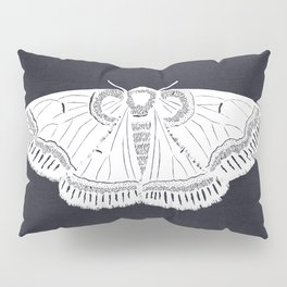 Banded Moth Cutout Pillow Sham
