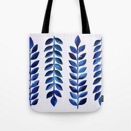 Tropical Indigo Tote Bag