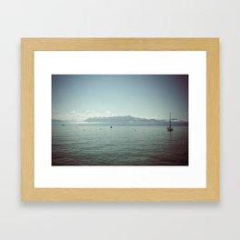 LAUSANNE / SWITZERLAND Framed Art Print