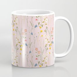 Dreamy Floral Pattern Coffee Mug