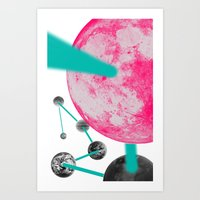 planets Art Prints featuring Planets by Dino cogito