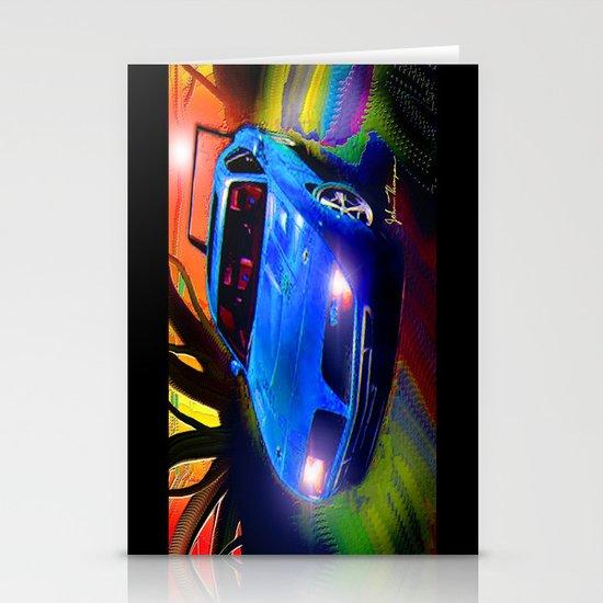 Daytona Charger Stationery Cards