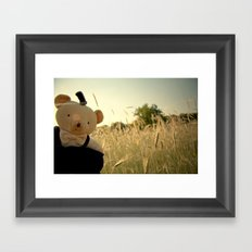 Hello Again Framed Art Print