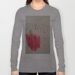 Tomato Speaks Long Sleeve T-shirt