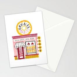 Donut Shop Stationery Cards
