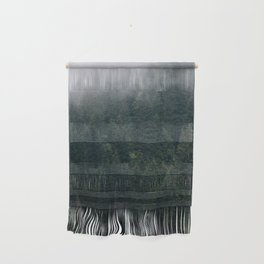 Mystic Pines - A Forest in the Fog Wall Hanging