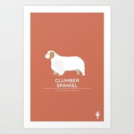 Clumber Spaniel Art Print