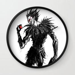 Ryuk's Apple Wall Clock