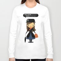 mary poppins Long Sleeve T-shirts featuring Mary Poppins by oyoyoi