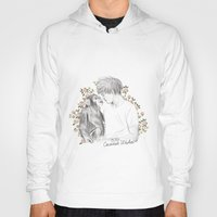 coconutwishes Hoodies featuring Louis and the chimp by Coconut Wishes