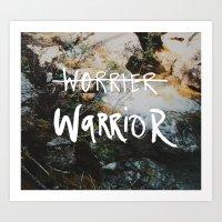 Inner Warrior - photo print Art Print