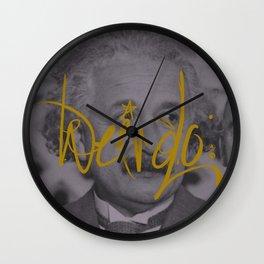 Weirdo: Einstein Wall Clock