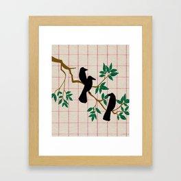 A murder Framed Art Print