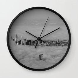 Foggy Day #1 Wall Clock