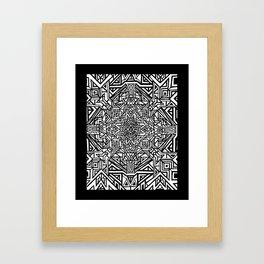 Blueprint of Consciousness Framed Art Print