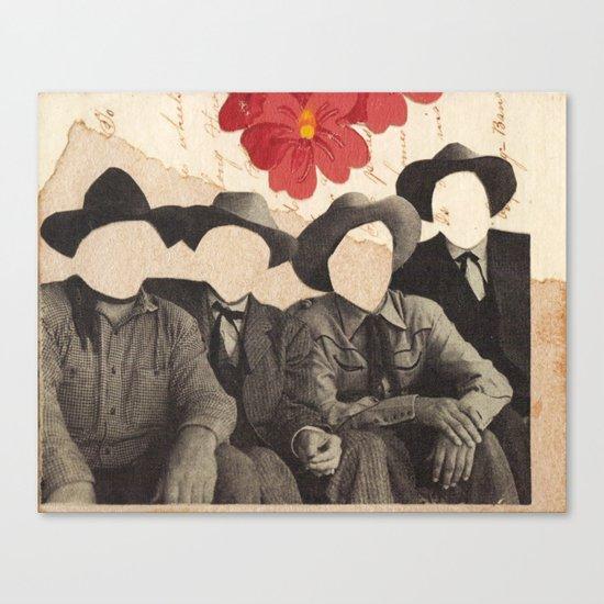 Lonesome Quartet Canvas Print