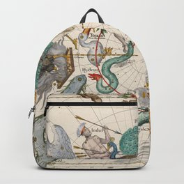 Old Constellation Map Year 1693 Backpack