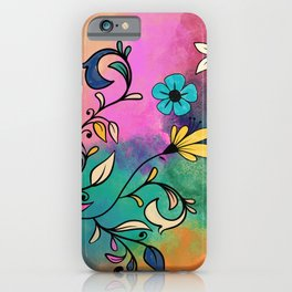 Magical Flowers No2 iPhone Case