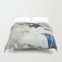 balloons Duvet Covers featuring Balloons by Aperture
