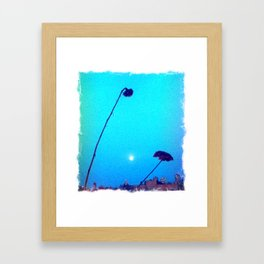 La Moona Framed Art Print