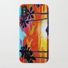 Palm Sunset Slim Case iPhone X