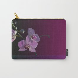 Minimalist Orchid Carry-All Pouch