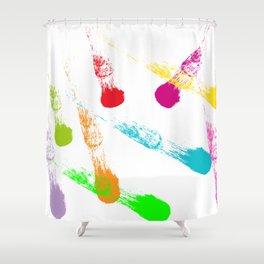 Paint Shower Curtain