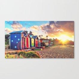 Aussie Beach Life Canvas Print
