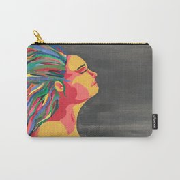 Girl with the Colored Hair Carry-All Pouch