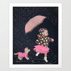 Rainy Day Adventure Art Print
