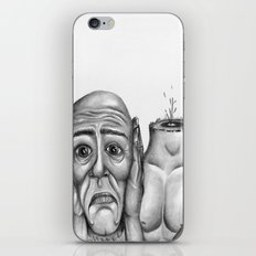 My head is pounding, I can't stop the pounding iPhone & iPod Skin