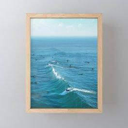 Huntington Beach Framed Mini Art Print