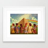 floyd Framed Art Prints featuring Floyd by Rittsu